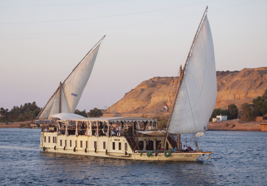 Luxury Dahabiya Nile Cruise Amp 5 Luxor Stay Sparen Sie