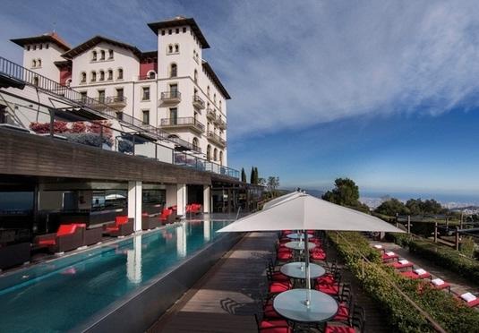 gran hotel la florida save up to 70 on luxury travel. Black Bedroom Furniture Sets. Home Design Ideas