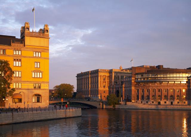 stilvolles cityhotel auf stockholms altstadtinsel sparen sie bis zu 70 auf luxusreisen. Black Bedroom Furniture Sets. Home Design Ideas