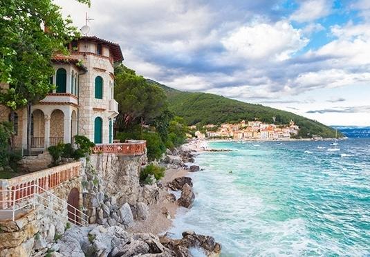 Sonne meer und kulinarik im sch nsten seebad kroatiens for Kroatien designhotel