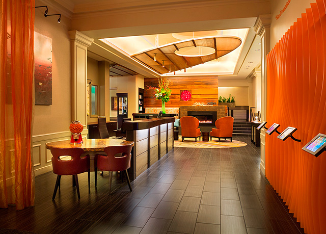Trendy boutique hotel in downtown san francisco save up for Hip boutique hotels