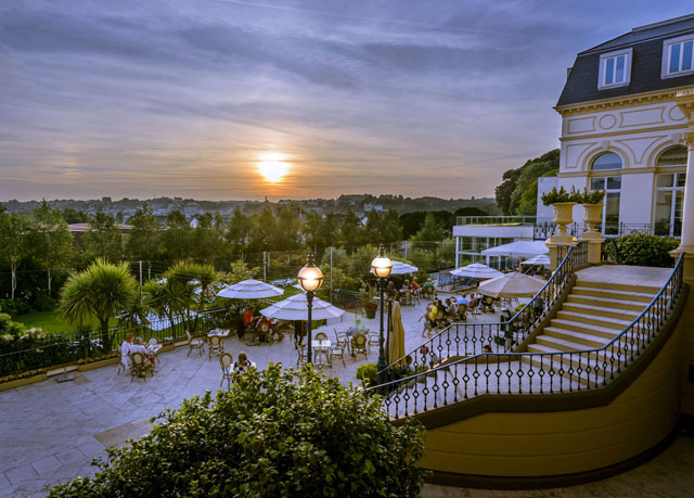 Grandiose jersey hotel with a highly acclaimed spa save for Hotel france spa