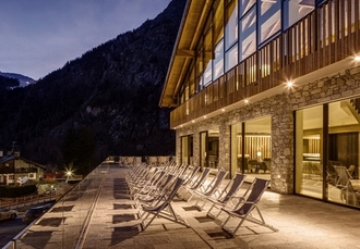 Grand Hotel Courmayeur Mont Blanc, 5* Italy ski resort with breathtaking views - save 33%