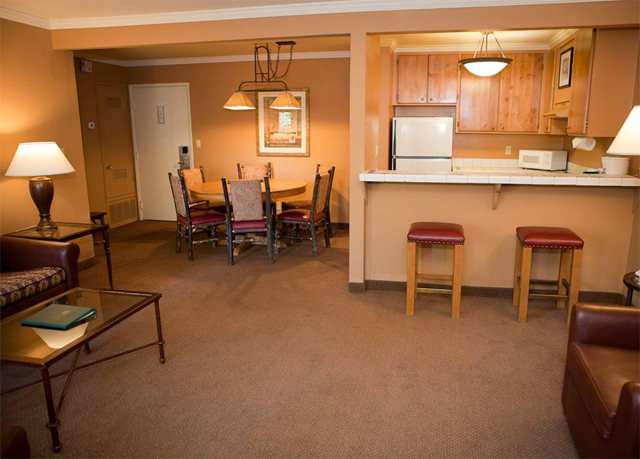 Forest suites resort at heavenly village save up to 70 for Living room suites for sale