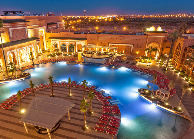 Glamorous 5 marrakech holiday at a luxury spa hotel for 5 star luxury hotels