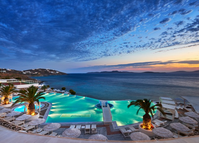 Best Island Beaches For Partying Mykonos St Barts: 5* Mykonos Break At A Private Beach Resort