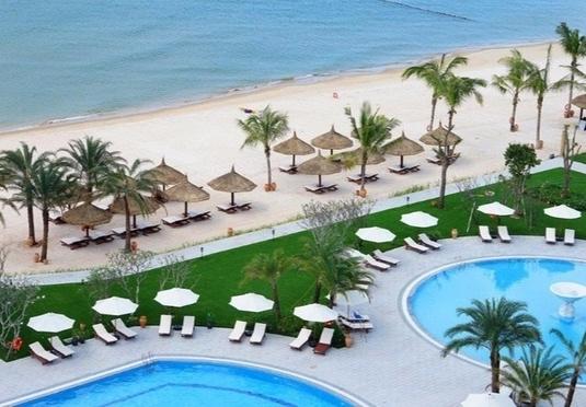 Vietnam island resort holiday