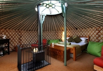 East Thorne Yurts, Bude, Cornwall - save 31%