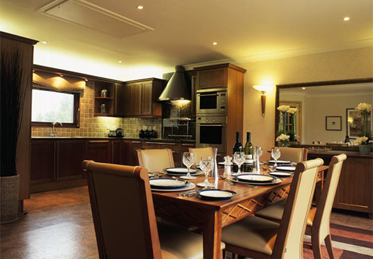 De vere luxury lodges save up to 60 on luxury travel for Luxury kitchens scotland