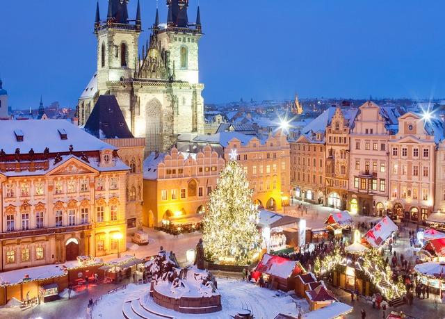 Resultado de imagem para o mercado de natal de Praga
