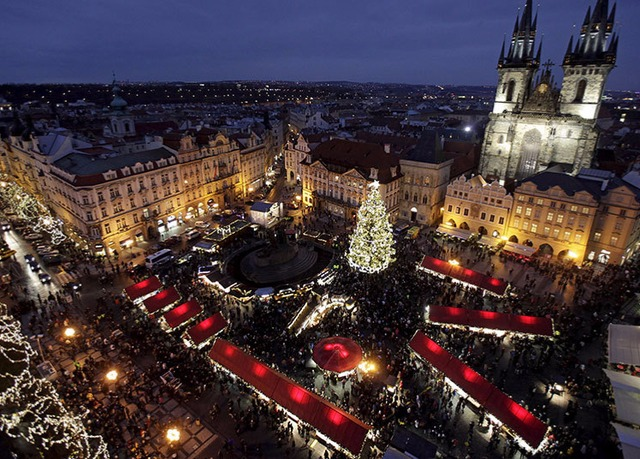 Prague city break with christmas market dates save up to for Designhotel elephant prague 1 czech republic