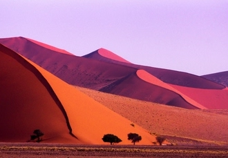 Fascinating escorted tour of Namibia