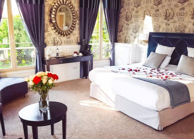 Promotion hotel de luxe ile de france