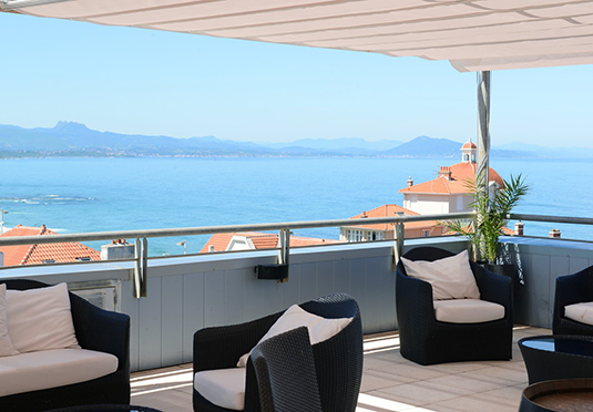 Radisson blu biarritz save up to 60 on luxury travel for Late room secret hotels