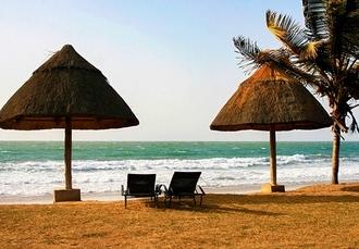Tropical Gambia beach holiday, Kombo Beach Hotel, Kotu - save 29%