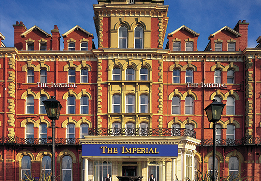 Imperial Hotel Blackpool Dinner Bed And Breakfast