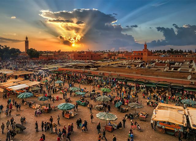 Luksuriøs riad i hjertet av Marrakech | Spar inntil 70% på ...