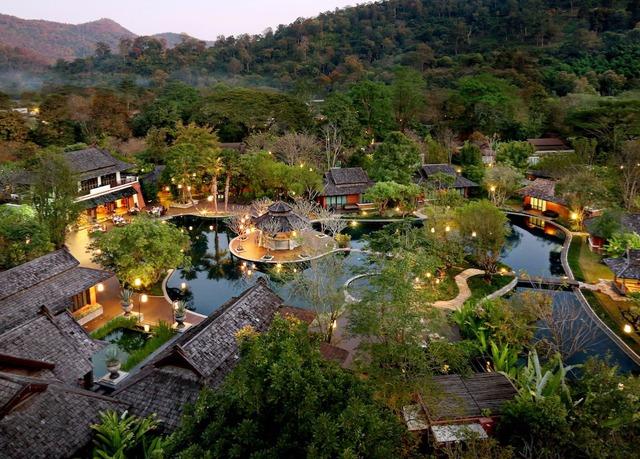 sibsan resort maetaeng hotel chiang