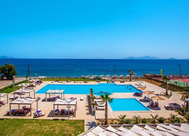 5 all inclusive plus kos holiday at a modern beach resort for Modern all inclusive resorts
