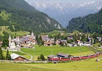Italy to Switzerland break with a super scenic train journey, ADI Doria Grand Hotel, Milan & Hotel ABC, Chur - save 36%