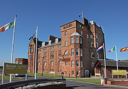 Spa day at the troon marine hotel spa save up to 60 on - Luxury scottish hotels with swimming pools ...