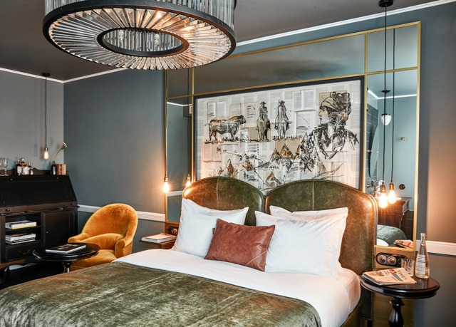 contemporary berlin break at an ultra hip hotel save up to 60 on luxury travel telegraph. Black Bedroom Furniture Sets. Home Design Ideas