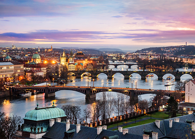 Modern prague break at an italian inspired hotel save up for Modern hotel prague