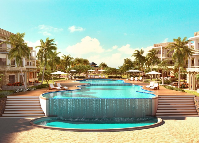 All inclusive mauritius beach break high rise dubai stay for Modern all inclusive resorts