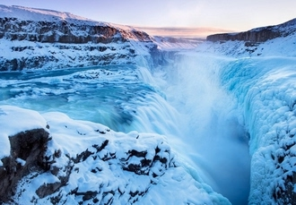 Iceland volcanoes & waterfalls adventure with wellness perks, Five-day tour with Northern Lights, Blue Lagoon & more - save 42%