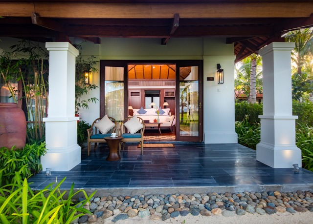 The anam resort save up to 60 on luxury travel secret for Garden pool hanoi