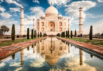 Incredible India adventure with Toy Train ride & sightseeing tours, New Delhi, Agra, Jaipur & Shimla - save 37%