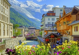 Summer French Alps break with Mont Blanc views, Chalet Hotel Sapinière, Chamonix - save 31%