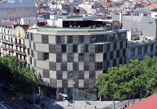 B hotel save up to 60 on luxury travel secret escapes for Hotel france barcelona