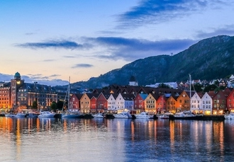 City stays & scenic cruises in the beautiful Norwegian fjords, Bergen & Stavanger, Norway - save 33%