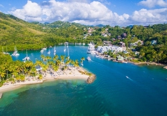 5* romantic St Lucia holiday at a luxury hillside resort, Capella at Marigot Bay, Caribbean - save 30%