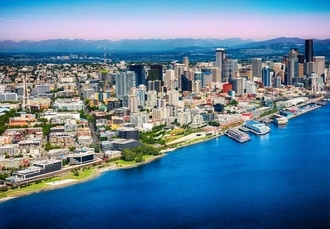 Thrilling Seattle & Vancouver break with intercity train travel, Two plush city-centre hotels, plus top sightseeing perks - save 29%