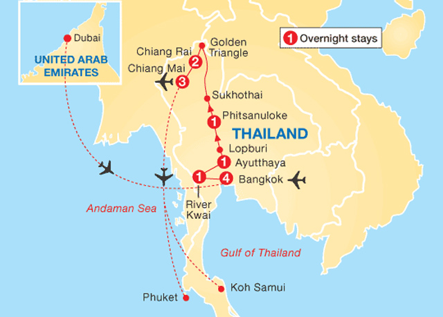 Lopburi Thailand Map.Mesmerising Thailand City Nature Escorted Tour Save Up To 60 On