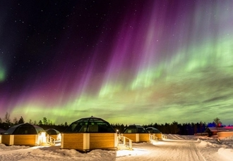 Enchanting Lapland adventure with glass igloo stay, A sleepover in an igloo & amazing arctic excursions, Finland - save 23%