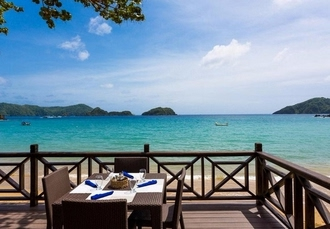 Blissful Tobago beachfront escape to a private & secluded island retreat, Blue Waters Inn, Caribbean - save 30%