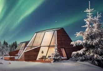 Luxury Finnish Lapland break with activities, Snowman World Glass Resort, Rovaniemi - save 38%