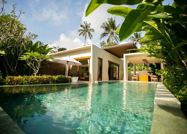 tropisches pool villen gl ck auf bali sparen sie bis zu. Black Bedroom Furniture Sets. Home Design Ideas