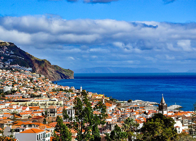 5* Madeira spa break with views over Funchal