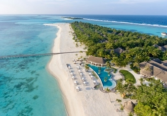 5* exceptional Maldives holiday with a beach bungalow, Kanuhura, Lhaviyani Atoll - save 38%