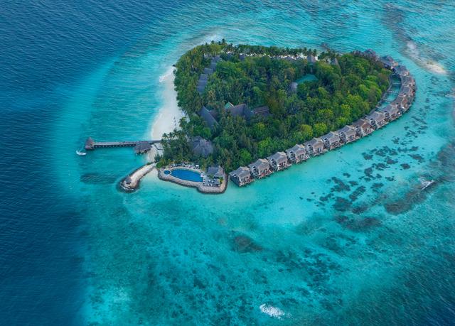 5*-Luxus-Villa auf den Malediven