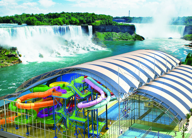 niagara falls base connected to a water park save up to. Black Bedroom Furniture Sets. Home Design Ideas