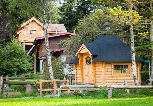 Rural French tranquility at a remote forest lodge | Save up
