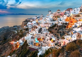 Heavenly Mykonos & Santorini island-hop with luxe hotels, Discover two of the finest Greek Islands - save 33%