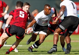 Exhilarating Dubai Rugby Sevens break, Two-day tickets & a modern stay at Rove City Centre, UAE - save 24%