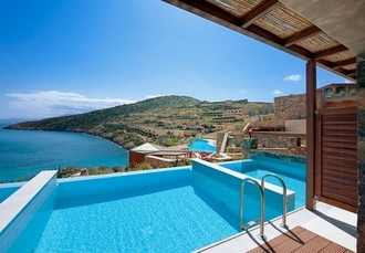 5* sublime Crete holiday with your own pool, Daios Cove Luxury Resort & Villas, Greece - save 39%