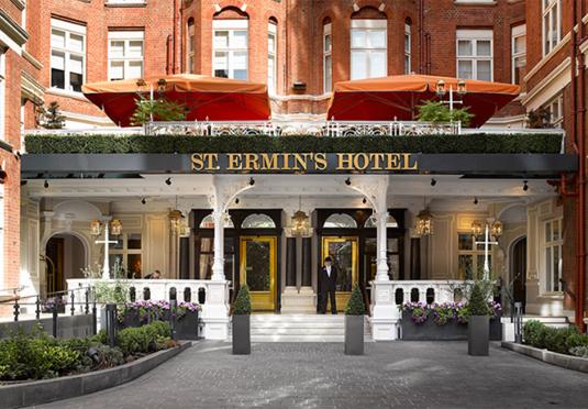 St Ermins Hotel London Breakfast